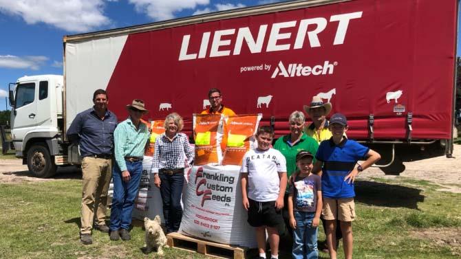 Australia Farming Relief Fund Alltech team