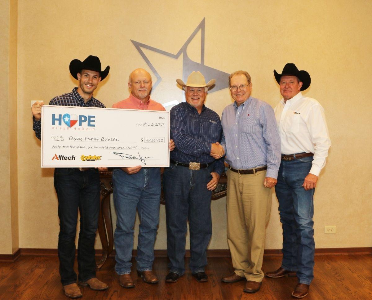 Hope for Harvey donation